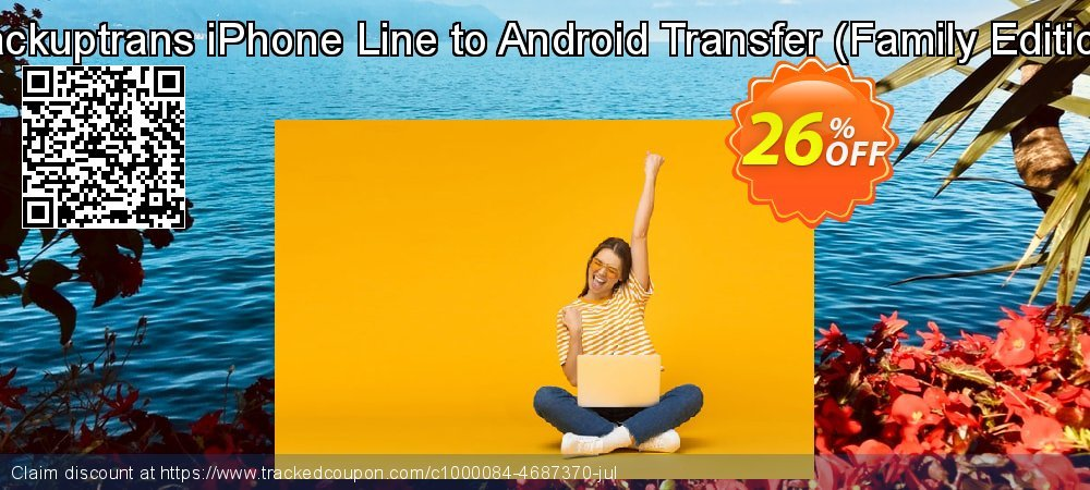 Backuptrans iPhone Line to Android Transfer - Family Edition  coupon on Tattoo Day promotions