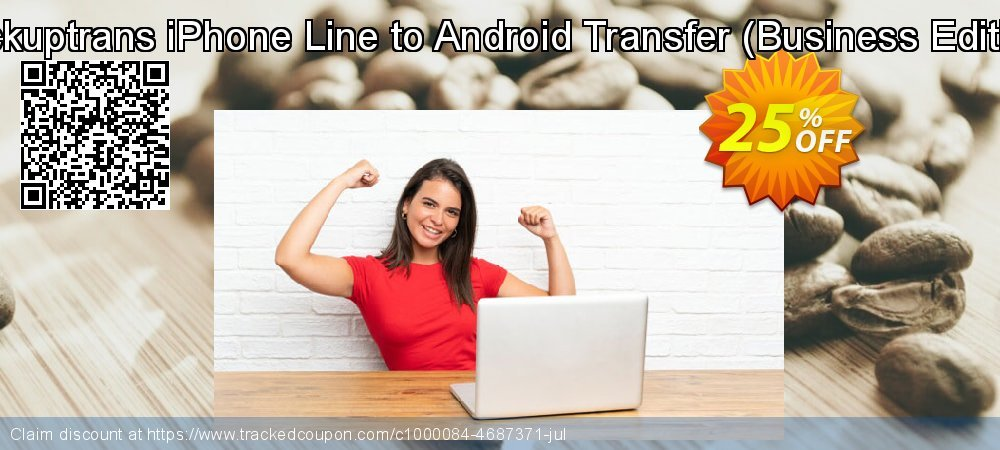 Backuptrans iPhone Line to Android Transfer - Business Edition  coupon on Emoji Day sales