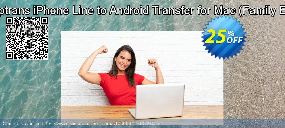 Backuptrans iPhone Line to Android Transfer for Mac - Family Edition  coupon on Summer offer