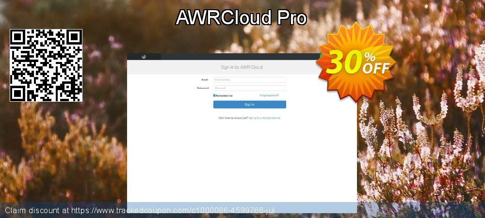 AWRCloud Pro coupon on Video Game Day discount