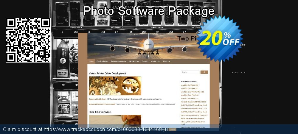 Photo Software Package coupon on April Fool's Day discounts