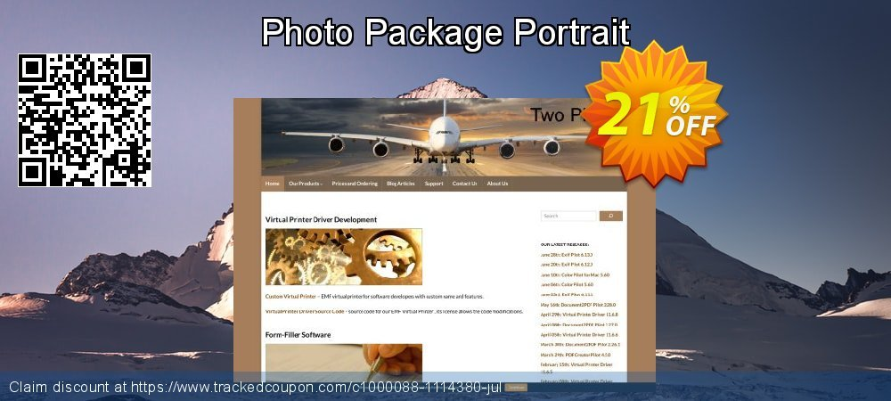 Photo Package Portrait coupon on April Fool's Day deals