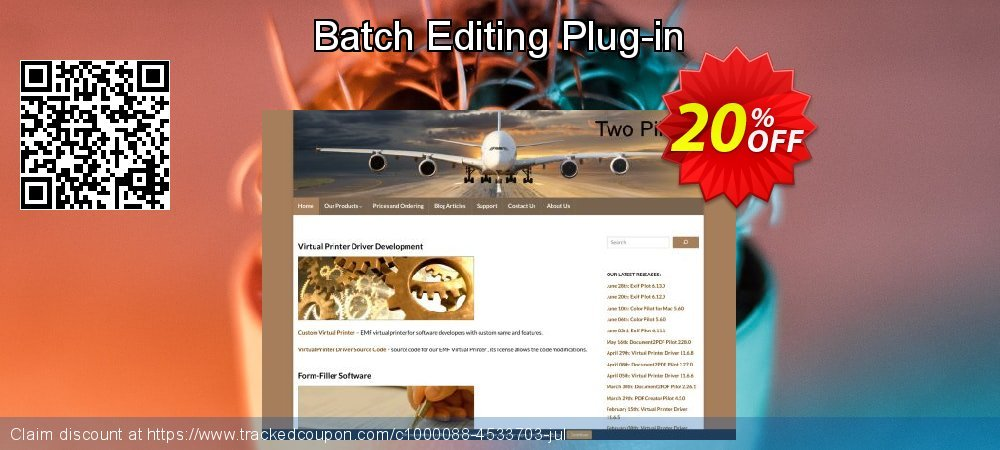 Batch Editing Plug-in coupon on Spring promotions