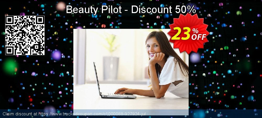 Beauty Pilot - Discount 50% coupon on April Fool's Day discounts