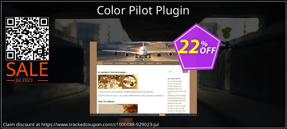 Get 20% OFF Color Pilot Plugin offering sales