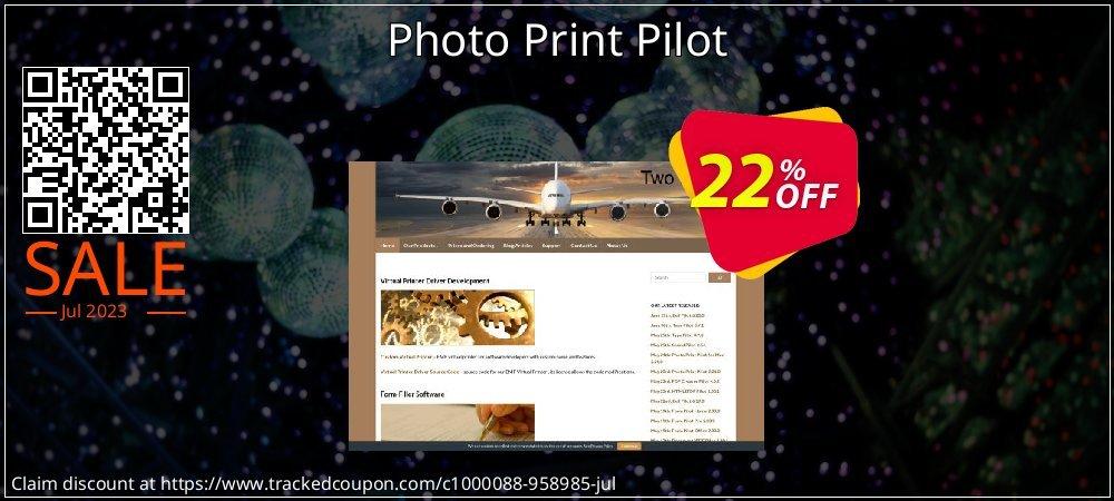Photo Print Pilot coupon on Easter Sunday sales