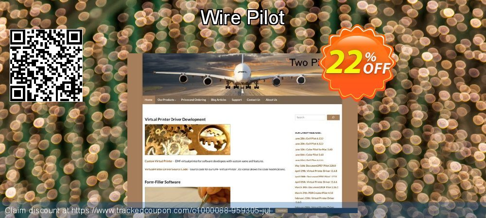 Wire Pilot coupon on Easter Sunday offering sales