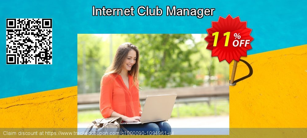 Get 10% OFF Internet Club Manager offering sales