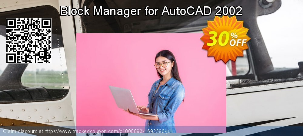 Block Manager for AutoCAD 2002 coupon on World Population Day discount
