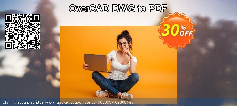 OverCAD DWG to PDF coupon on Lazy Mom's Day deals