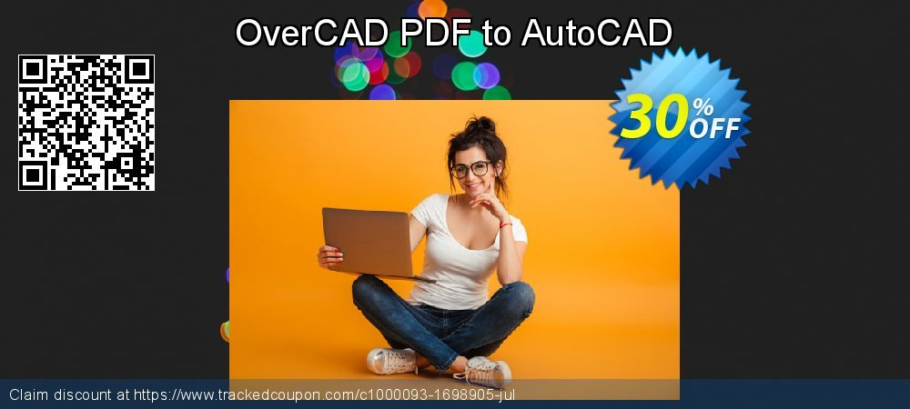 OverCAD PDF to AutoCAD coupon on Tattoo Day offer