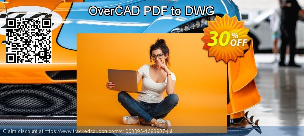 OverCAD PDF to DWG coupon on Parents' Day offering discount