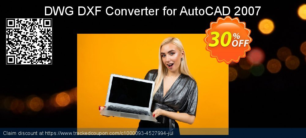 DWG DXF Converter for AutoCAD 2007 coupon on Summer offering discount