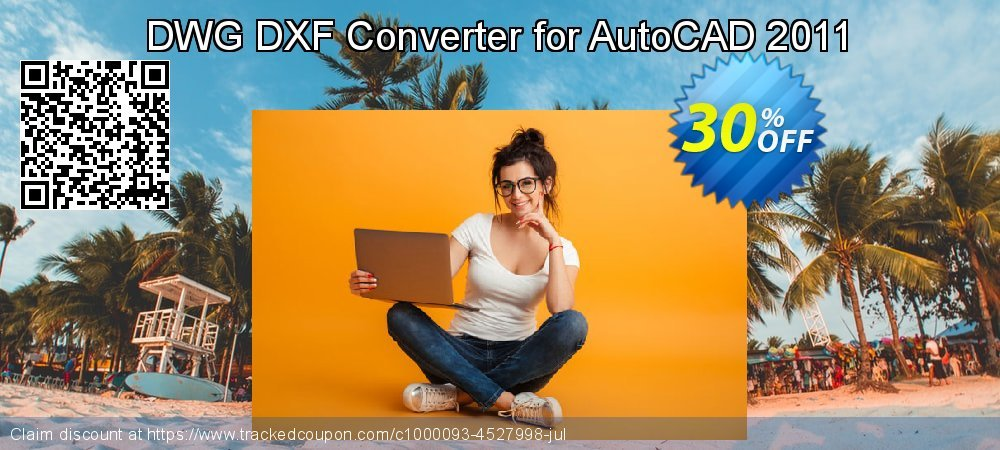 DWG DXF Converter for AutoCAD 2011 coupon on Back to School shopping sales