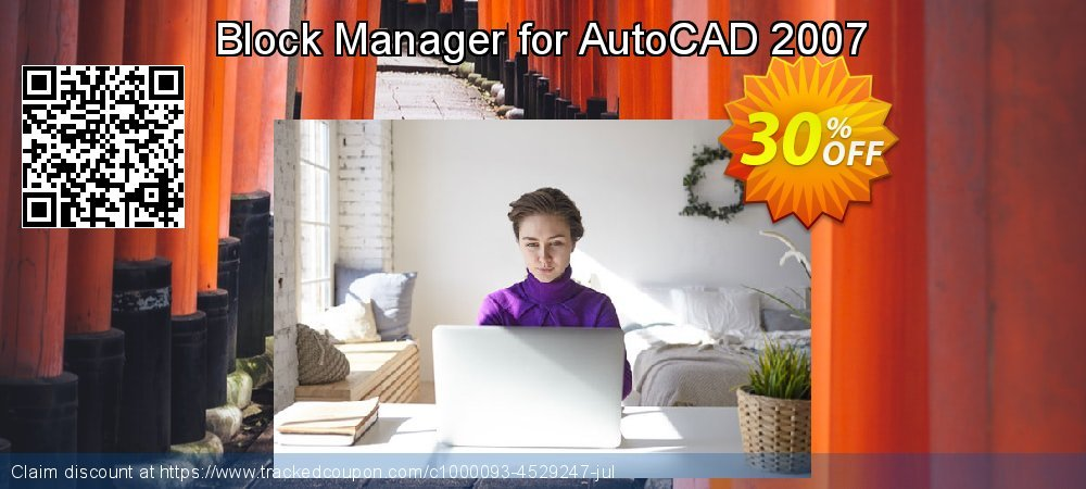 Block Manager for AutoCAD 2007 coupon on World UFO Day super sale