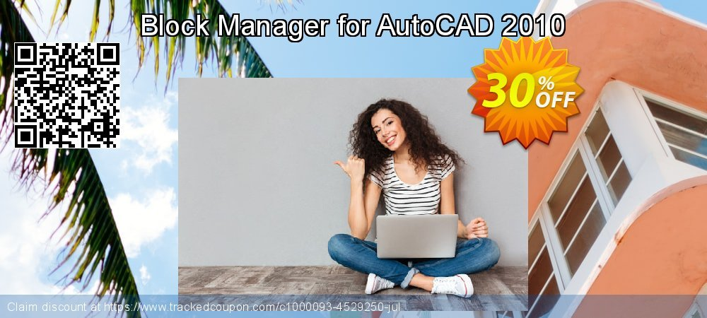 Block Manager for AutoCAD 2010 coupon on World Population Day sales