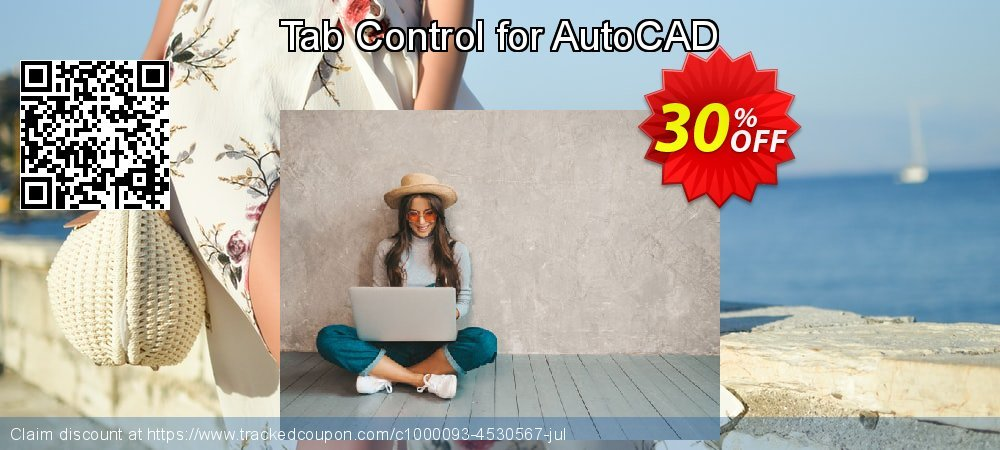Tab Control for AutoCAD coupon on Parents' Day discount