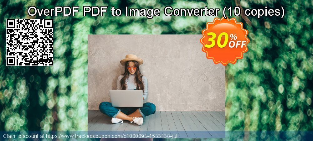 OverPDF PDF to Image Converter - 10 copies  coupon on Nude Day sales