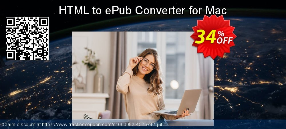 HTML to ePub Converter for Mac coupon on National French Fry Day discount