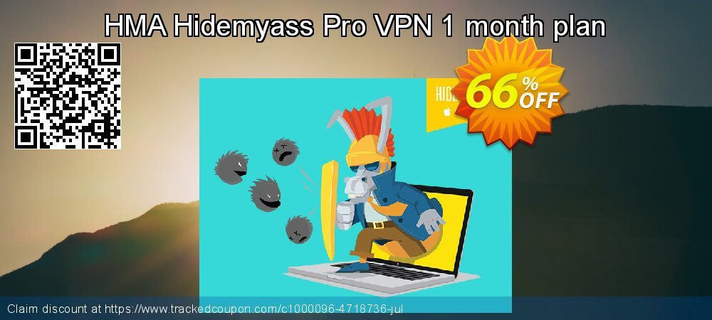 Get 10% OFF Hide My Ass! Pro VPN 1 Month promo sales