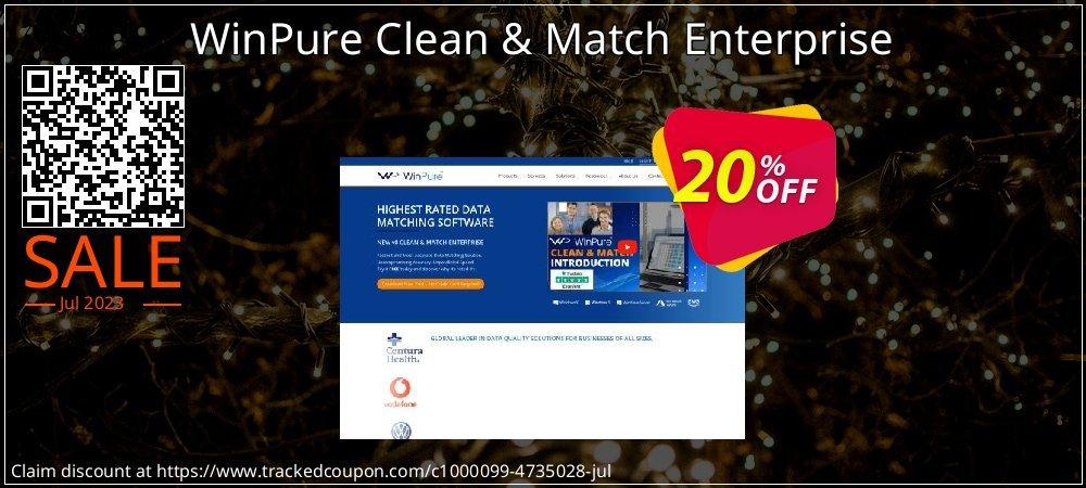 Get 20% OFF WinPure Clean & Match Enterprise deals