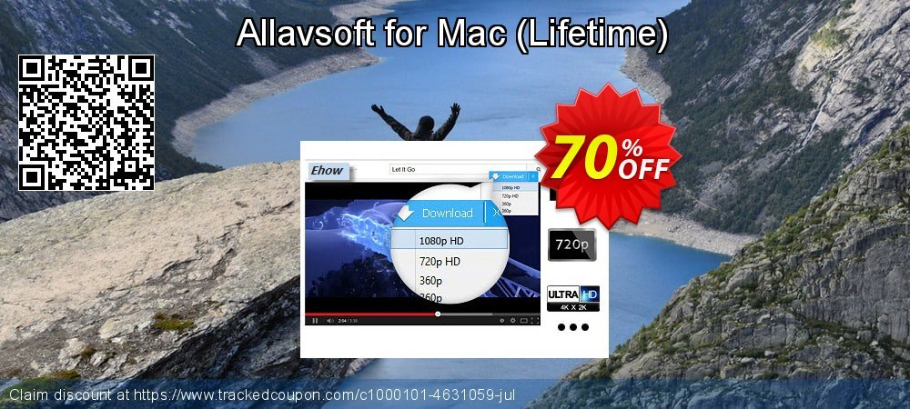 Allavsoft for Mac - Lifetime  coupon on World Chocolate Day sales