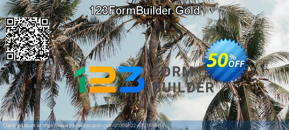 123FormBuilder Gold  - Yearly coupon on May Day offer