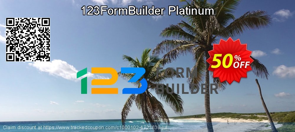 123FormBuilder Platinum  - Yearly coupon on Back to School deals promotions