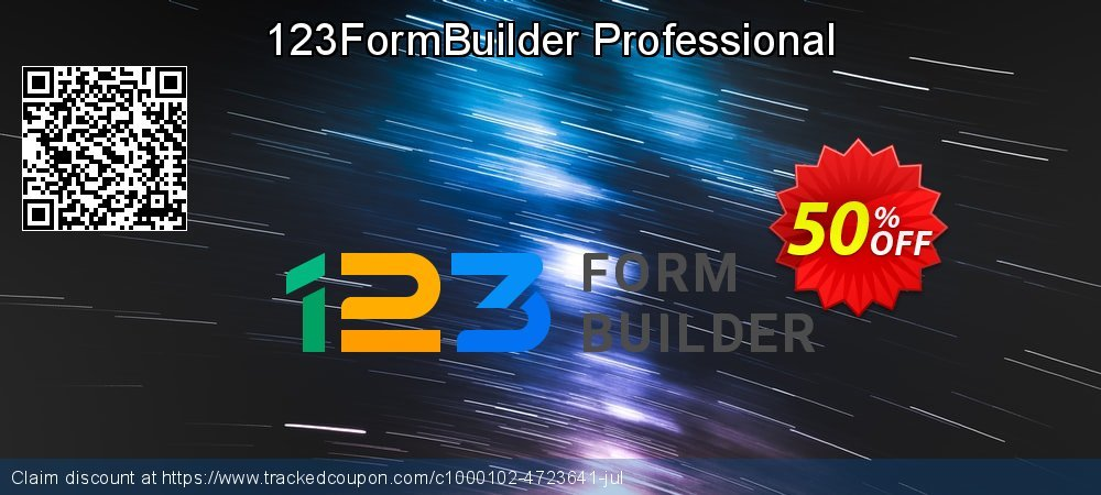 123FormBuilder Professional coupon on New Year's Day discount