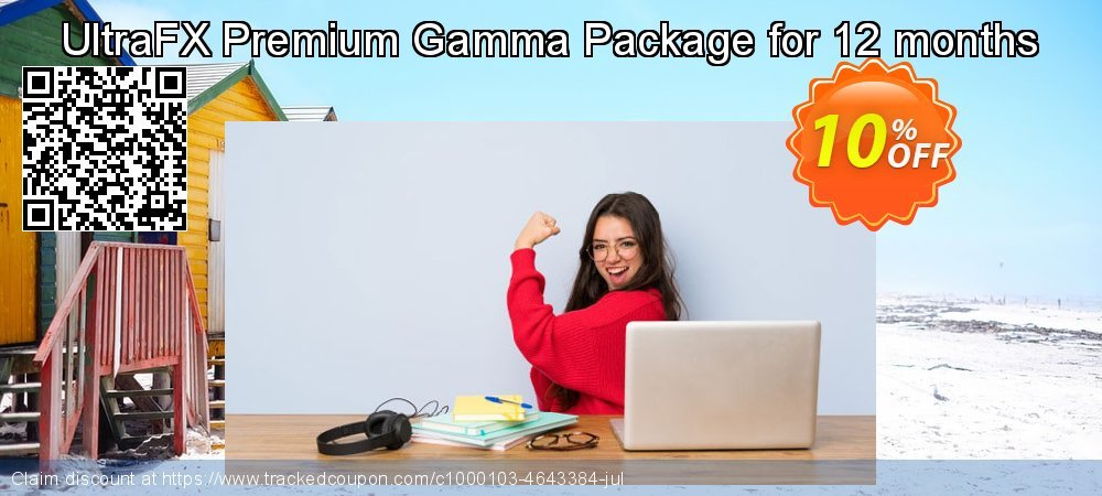 Get 10% OFF Premium Gamma Package for 12 months offering sales