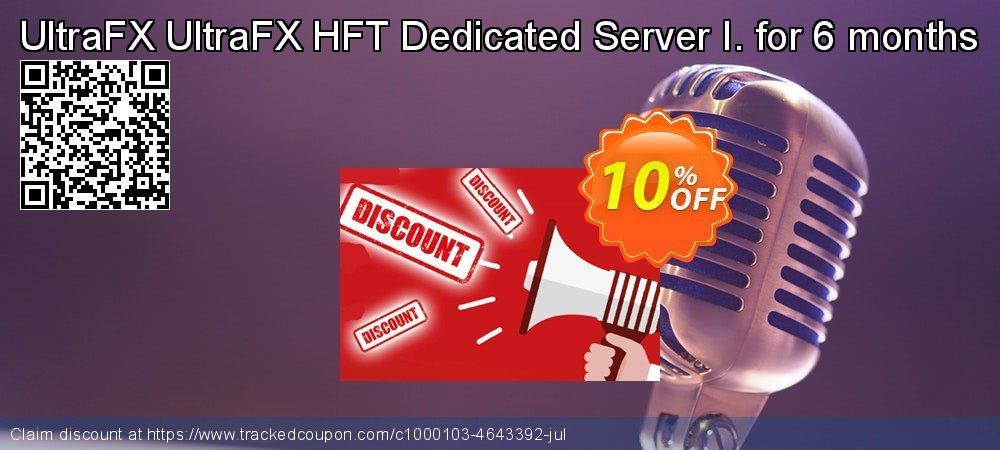 Get 10% OFF UltraFX HFT Dedicated Server I. for 6 months offering deals