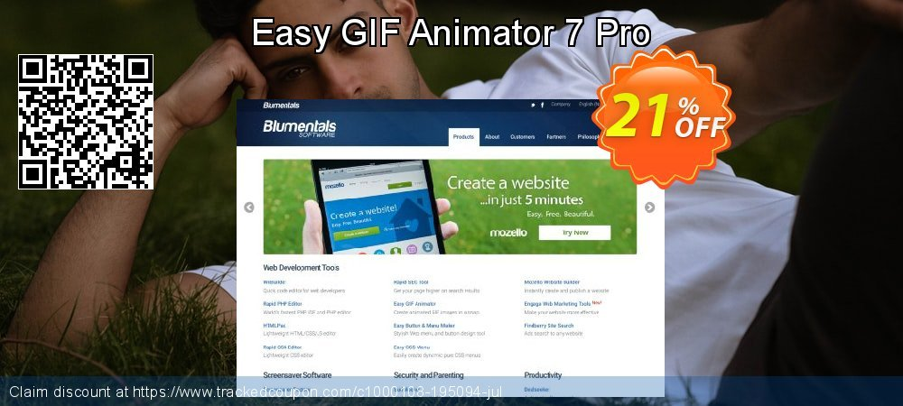 Get 20% OFF Easy GIF Animator 7 Pro offering discount