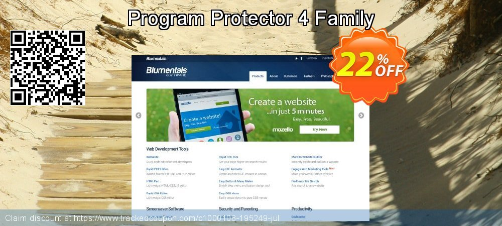 Program Protector 4 Family coupon on Summer sales