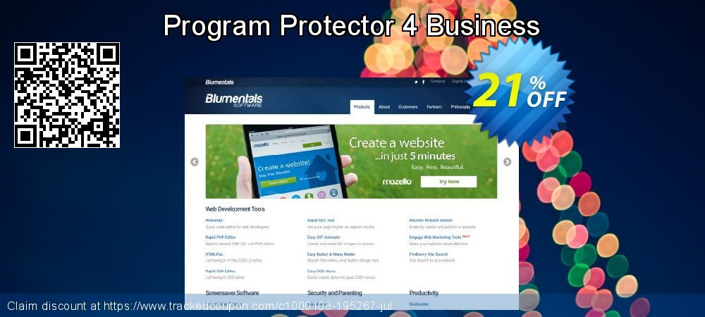 Get 20% OFF Program Protector 4 Business promo