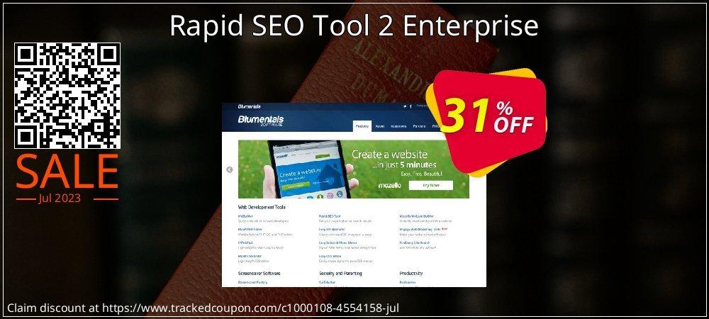 Get 31% OFF Rapid SEO Tool 2 Enterprise offering sales