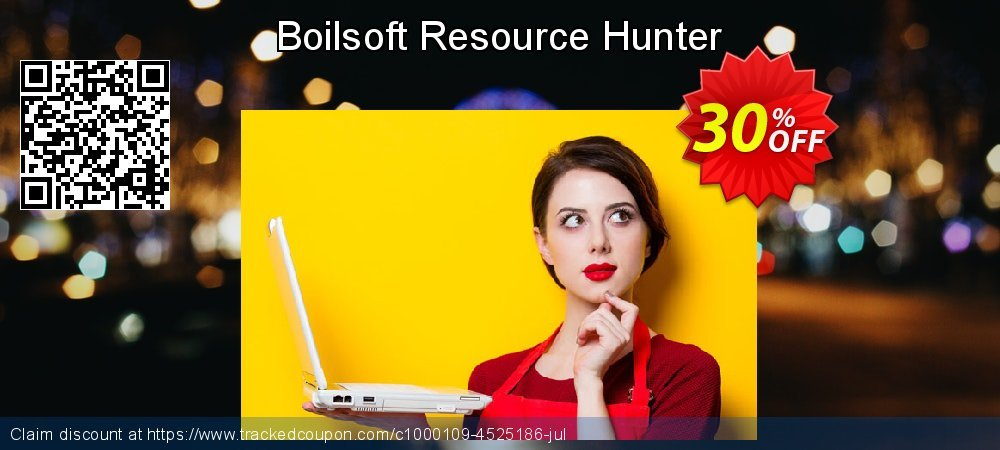 Boilsoft Resource Hunter coupon on Thanksgiving super sale