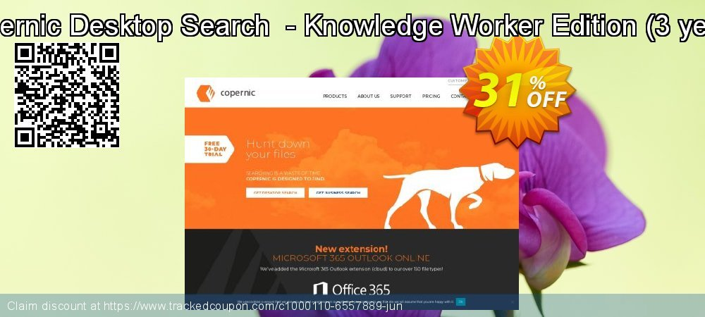Copernic Desktop Search  - Knowledge Worker Edition - 3 years  coupon on Easter Sunday promotions