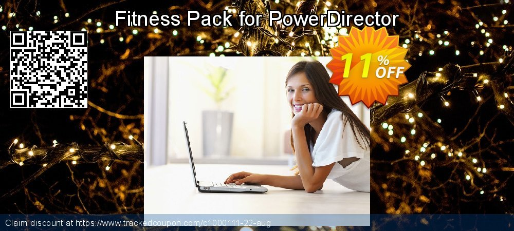 Get 10% OFF Fitness Pack for PowerDirector promo