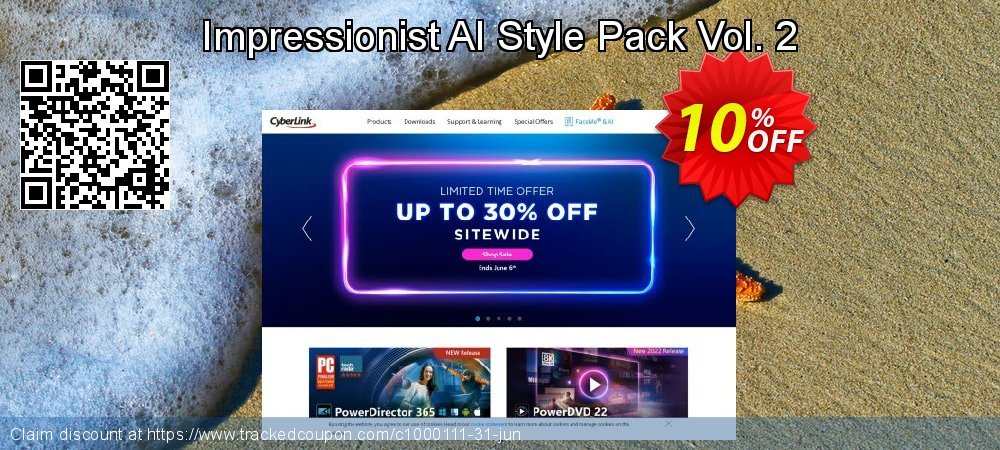 Impressionist AI Style Pack Vol. 2 coupon on Lunar New Year discounts