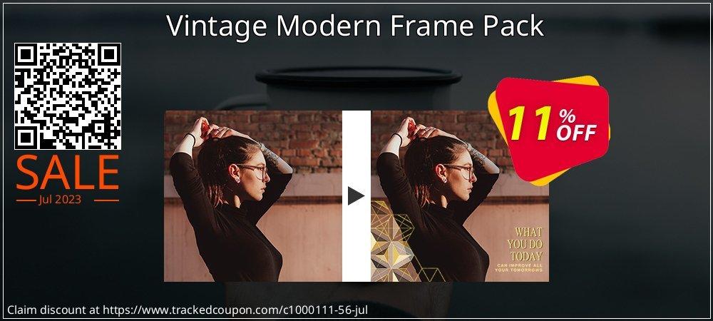 Get 10% OFF Vintage Modern Frame Pack discount
