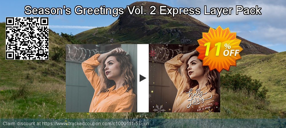Season's Greetings Vol. 2 Express Layer Pack coupon on New Year's Day super sale