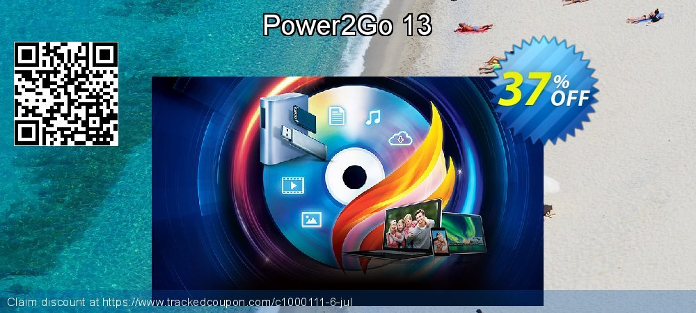 Power2Go 13 coupon on  Lover's Day deals