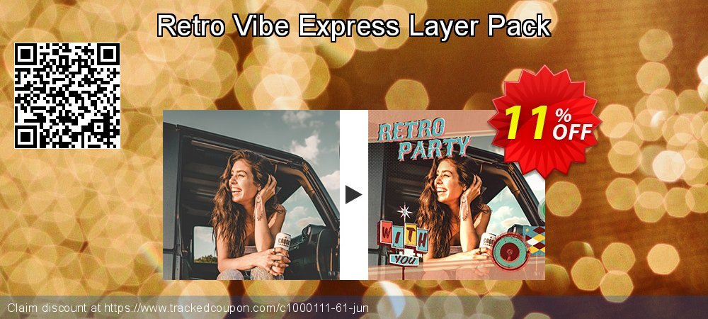 Get 10% OFF Retro Vibe Express Layer Pack offering sales