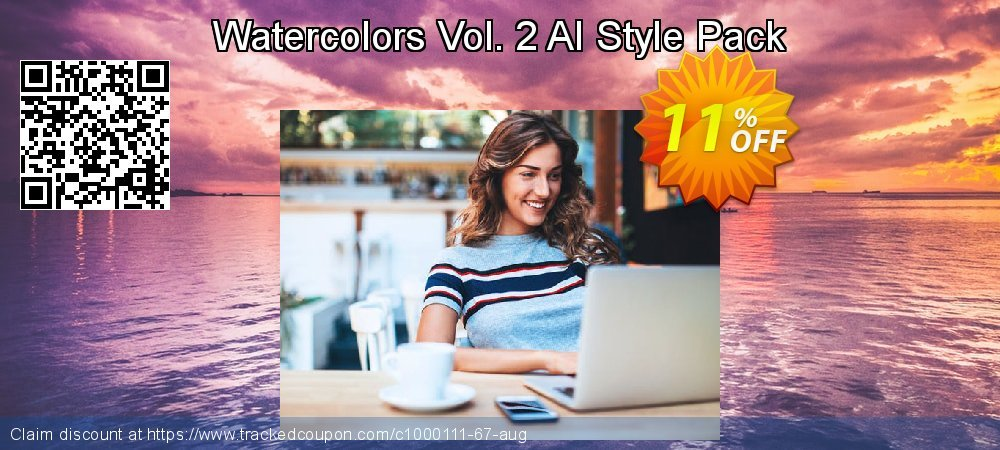 Watercolors Vol. 2 AI Style Pack coupon on Lunar New Year discounts