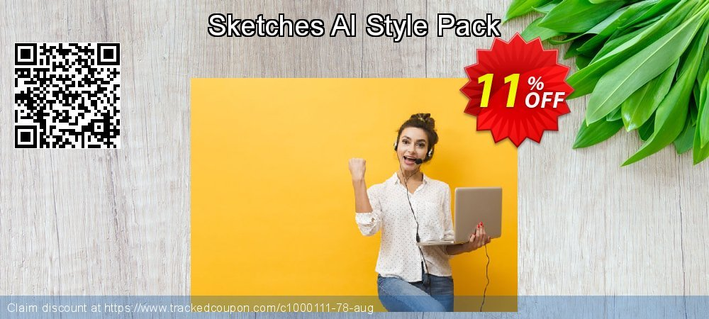 Get 10% OFF Sketches AI Style Pack offering sales