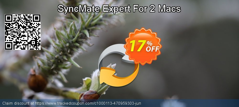 Get 15% OFF SyncMate Expert For 2 Macs offering deals