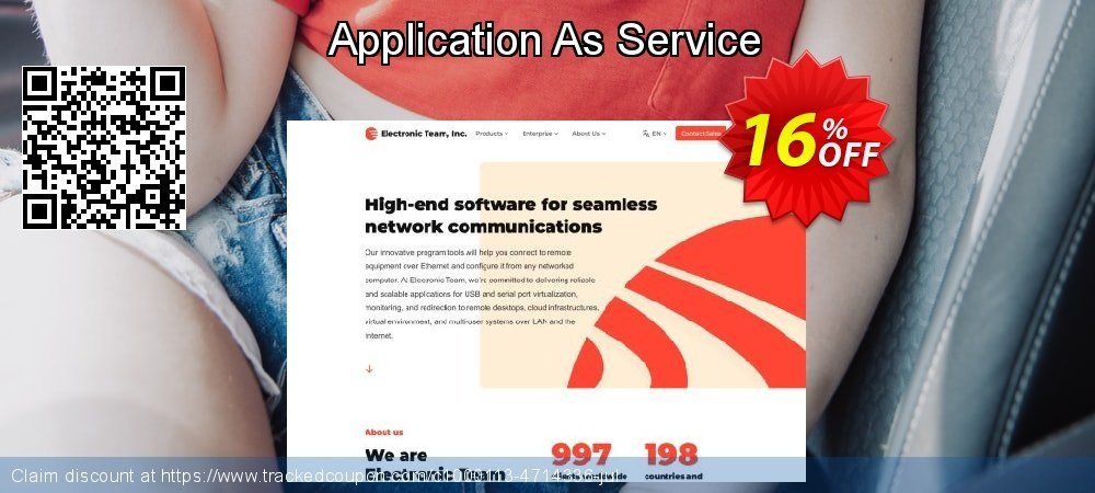 Get 10% OFF Application As Service offering discount
