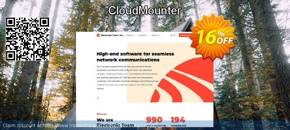 CloudMounter for Windows coupon on US Independence Day super sale