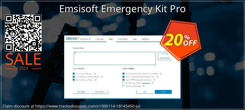 Emsisoft Emergency Kit Pro coupon on April Fool's Day sales