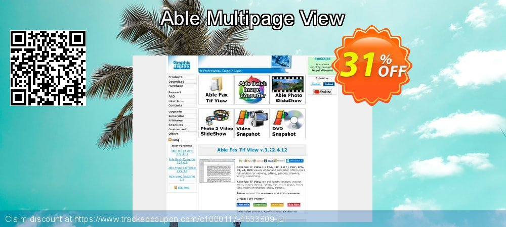 Able Multipage View coupon on Easter Sunday discount